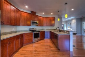Kitchen in Semi Custom home