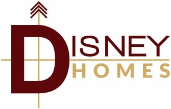 Disney Homes - Custom Home Builder Logo